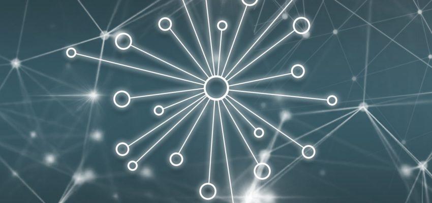Graphik, welche ein Netzwerk darstellt